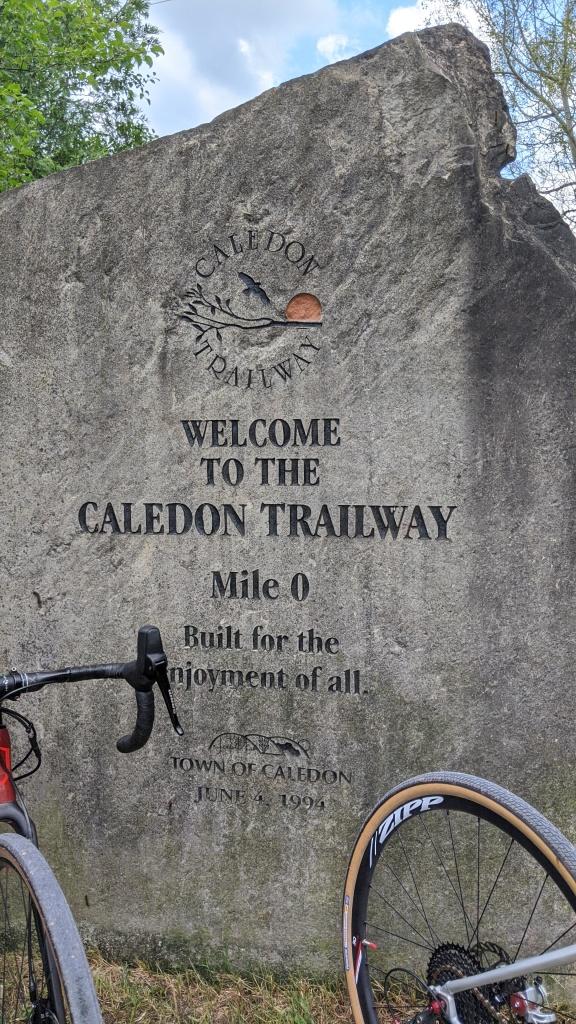 Caledon Trailway Trail Head Mile 0